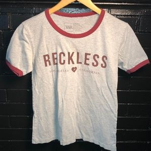 Young & Reckless Ringer T-Shirt
